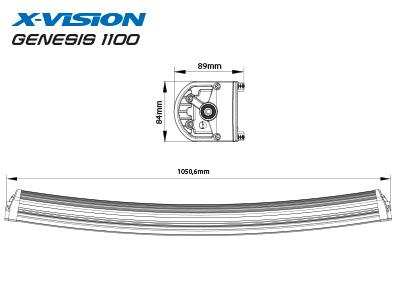 X-VISION GENESIS 1100