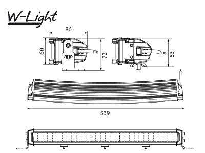 W-LIGHT COMBER 550