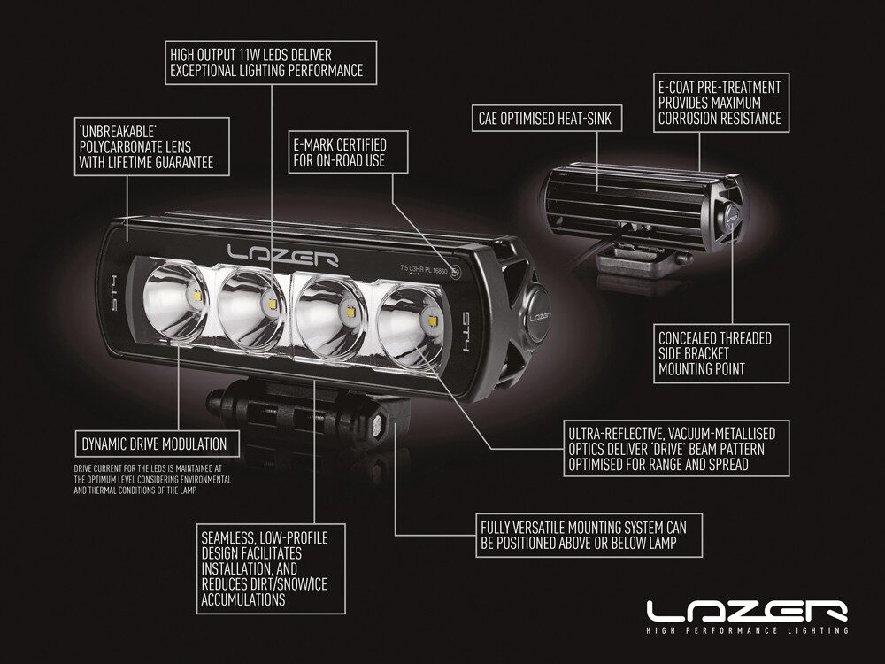LAZER ST8 EVOLUTION