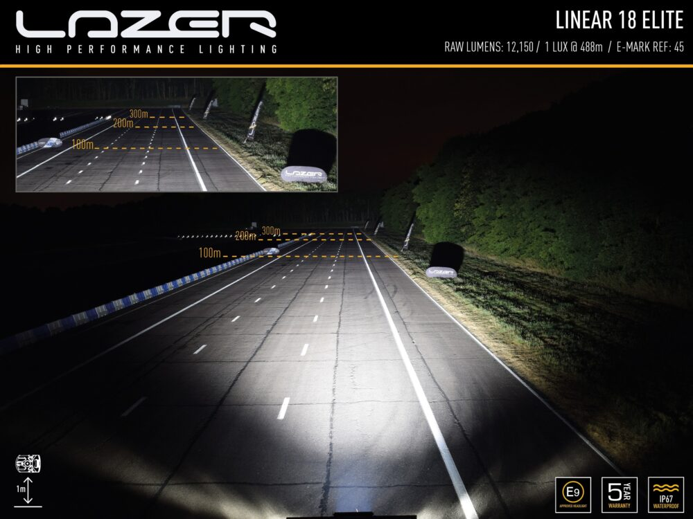 LAZER LINEAR-18 ELITE