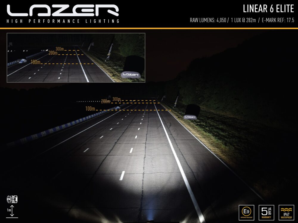 LAZER LINEAR-6 ELITE