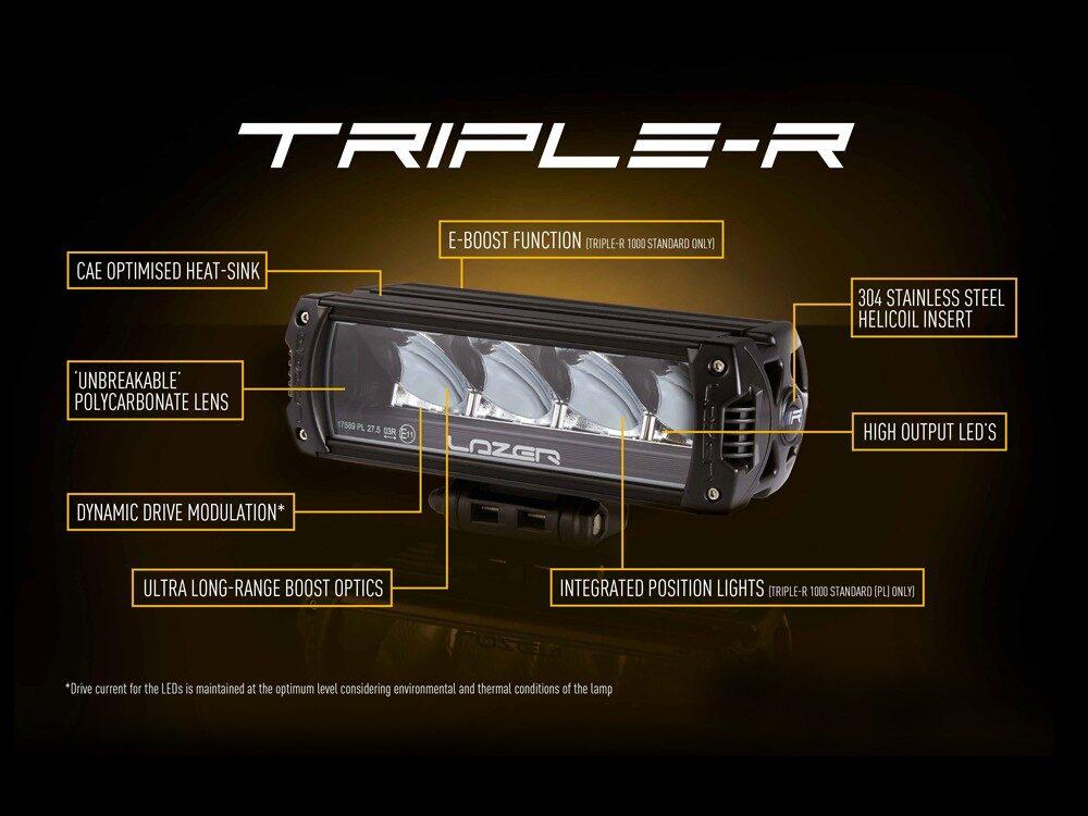 LAZER TRIPLE-R 1000 DRL