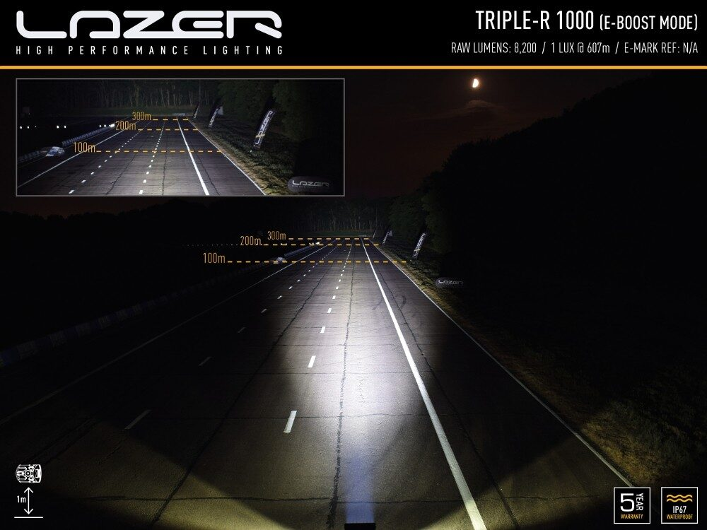 LAZER TRIPLE-R 1000 STD